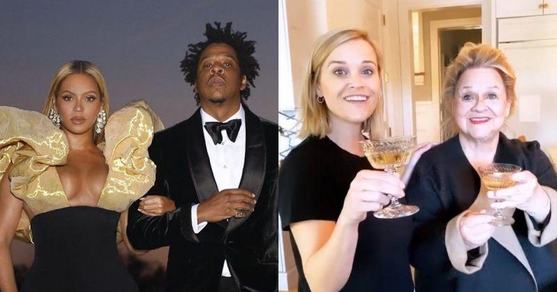 Jay-Z-მ და ბიონსემ რიზ უიზერსპუნს ერთი ყუთი შამპანიური გაუგზავნეს