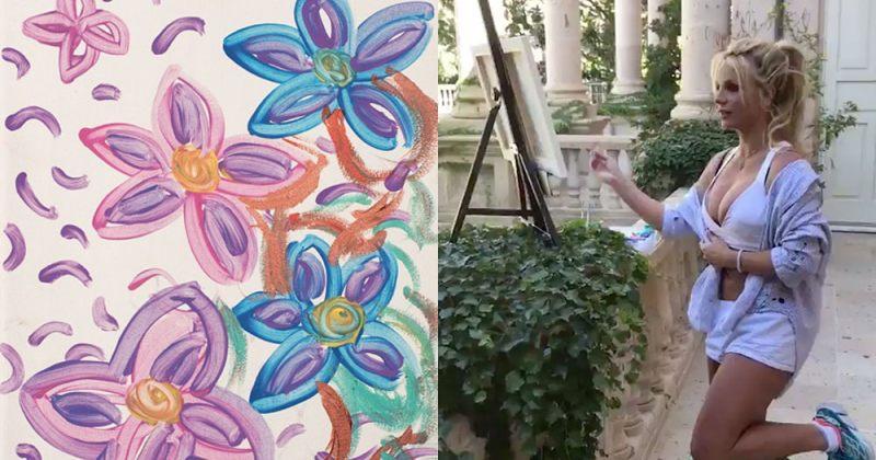 ბრიტნი სპირსი უარყოფს, რომ მისი ნახატები პარიზში გამოიფინება