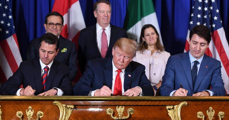 სენატმა კანადასა და მექსიკასთან ახალი სავაჭრო ხელშეკრულება დაამტკიცა