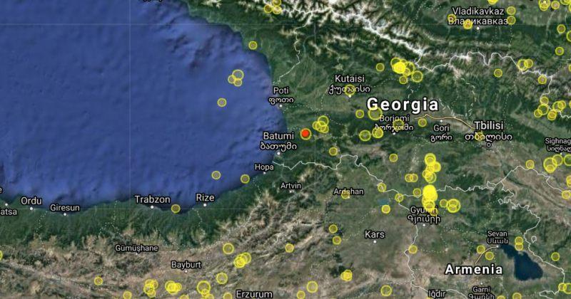 საქართველოში 3.3 მაგნიტუდის სიმძლავრის მიწისძვრა მოხდა