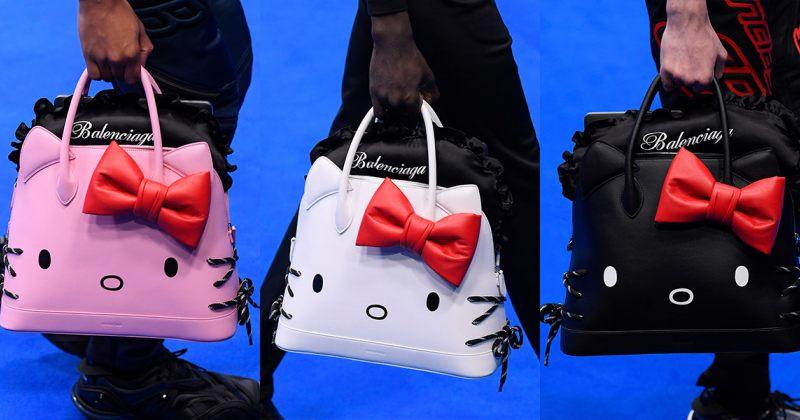 ბალენსიაგა Hello Kitty-ის ფორმის ჩანთებს გამოუშვებს