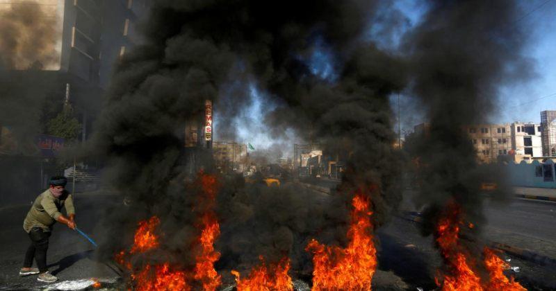 ერაყში ანტი-სამთავრობო გამოსვლები გრძელდება, დაიღუპა 2 პოლიციელი, დაშავდა ათობით მომიტინგე
