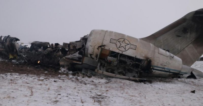 აშშ-მა მიიღო ავღანეთში თვითმფრინავის ჩამოვარდნისას დაღუპული ორი სამხედროს ცხედარი