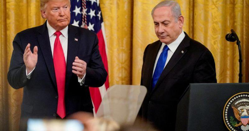 ტრამპმა და ნეთანიაჰუმ ახლო აღმოსავლეთში მშვიდობის დამყარების გეგმა წარმოადგინეს