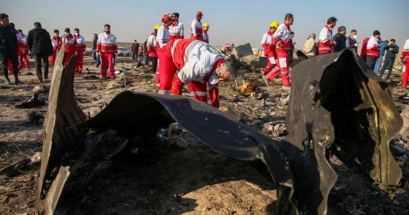 ირანელი გამომძიებლები: უკრაინის ავიახაზების თვითმფრინავს ჩამოვარდნამდე ცეცხლი გაუჩნდა