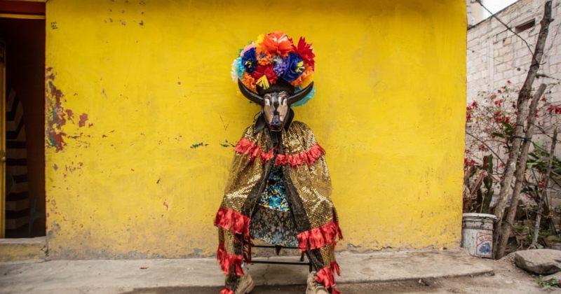 ფოტოები აფრიკულ-მექსიკური დღესასწაულიდან კოიოლიოში