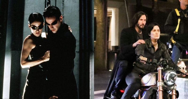 ახალი ფოტო ფილმის The Matrix 4 გადაღებებიდან