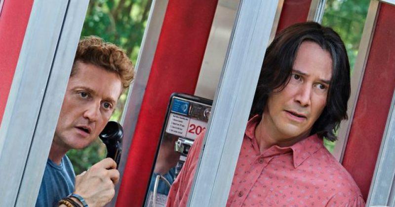 ალექს უინტერსი და კიანუ რივზი ფილმის Bill & Ted Face the Music პირველ კადრებში გამოჩნდნენ