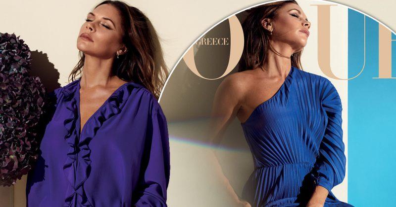 ვიქტორია ბექჰემის ახალი ფოტოები ბერძნული Vogue-სთვის