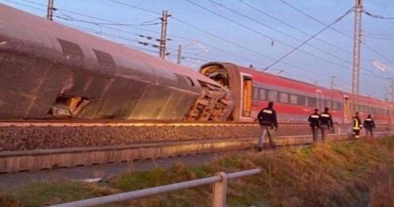 იტალიაში სწრაფმავალი მატარებელი რელსებიდან გადავიდა, დაიღუპა 2 ადამიანი