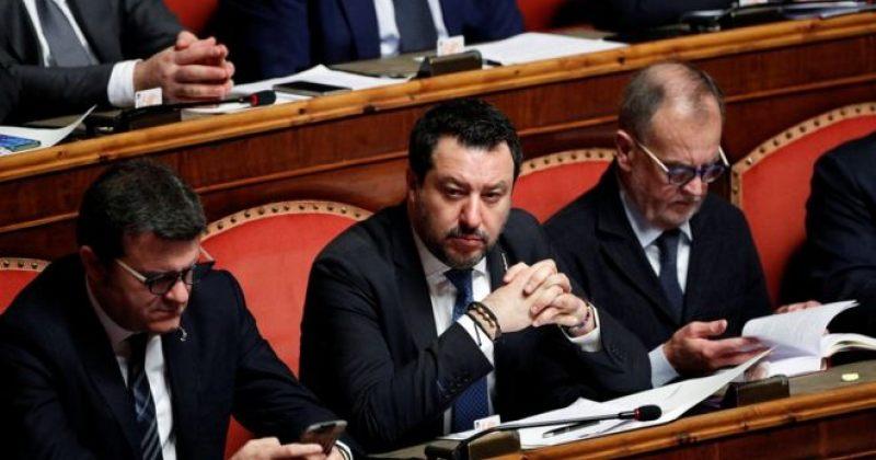 იტალიის სენატი ყოფილი შს მინისტრის საქმის სასამართლოსათვის გადაცემას უყრის კენჭს