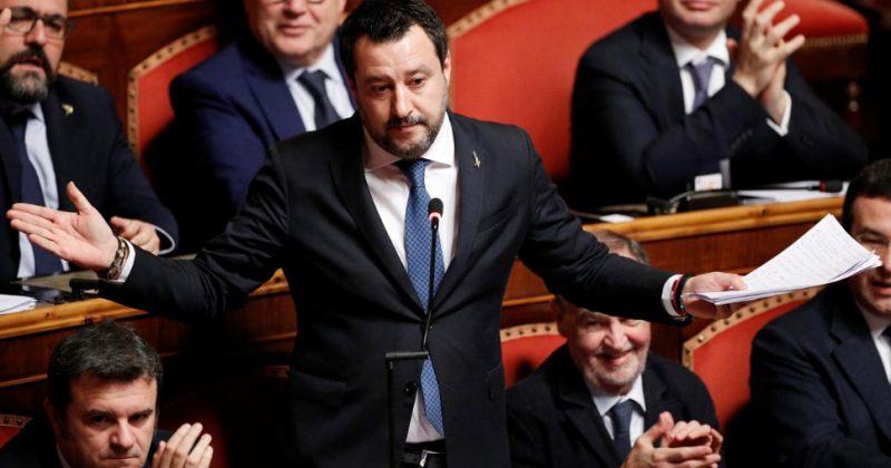 იტალიის სენატმა ყოფილ შს მინისტრს იმუნიტეტი პორტების დაკეტვის მეორე საქმეზეც მოუხსნა