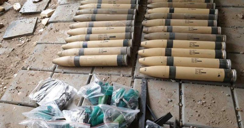 ერაყში ტაჯის ბაზაზე, სადაც ამერიკელი სამხედროები არიან, რამდენიმე რაკეტა ჩამოაგდეს
