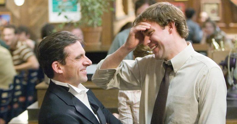 ჯონ კრასინსკიმ და სტივ კარელმა სერიალის The Office 15 წელი აღნიშნეს