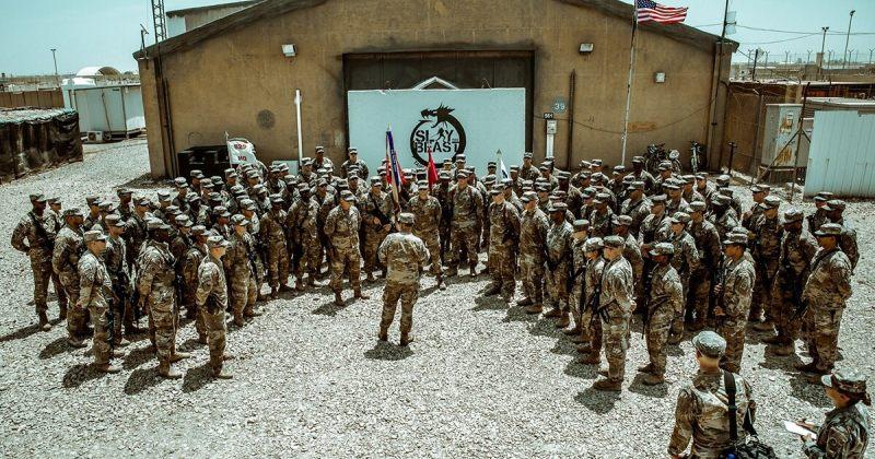 ერაყში ამერიკულ ბაზაზე სარაკეტო შეტევისას 2 ამერიკელი და 1 ბრიტანელი სამხედრო დაიღუპა