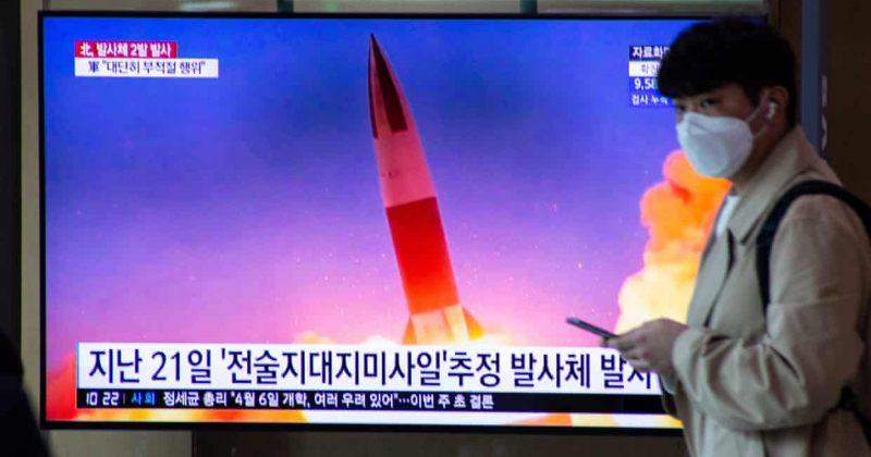 ჩრდ. კორეამ მცირე რადიუსის რაკეტები გაისროლა, ქვეყანაში საჰაერო სამხედრო წვრთნები ტარდება