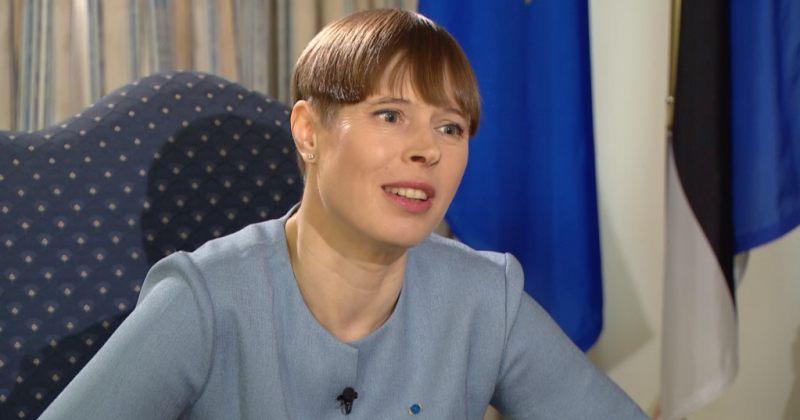 ესტონეთის პრეზიდენტი: გვაწუხებს პოლიტიკოსების დაკავება და საარჩევნო სისტემის ჩავარდნა