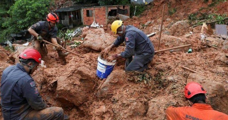 ბრაზილიაში ძლიერ წვიმას და მეწყერს 23 ადამიანის სიცოცხლე ემსხვერპლა, დაკარგულად ითვლება 30