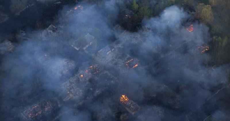 ჩერნობილის ტყეში ხანძრის ჩაქრობა ამ დრომდე ვერ ხერხდება - რადიაცია დასაშვებზე 16-ჯერ მეტია