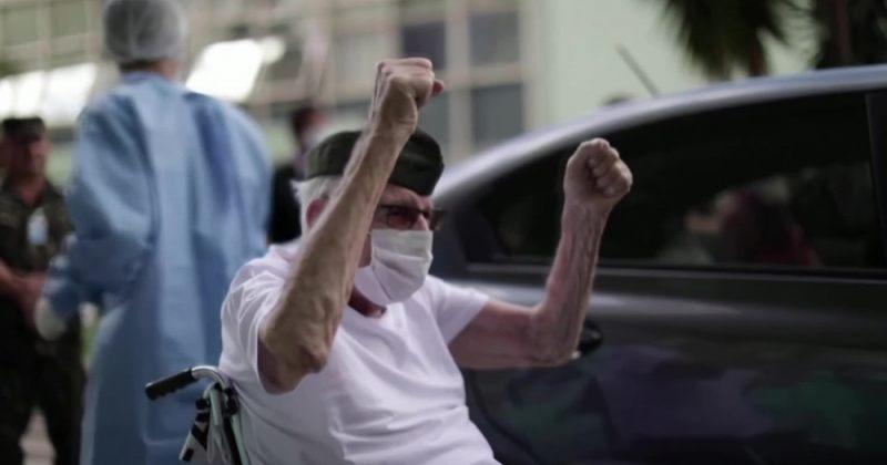 ბრაზილიაში კორონავირუსისგან 99 წლის II მსოფლიო ომის ვეტერანი გამოჯანმრთელდა