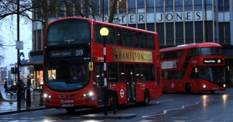 ლონდონში COVID-19-ით ავტობუსის 5 თანამშრომელი გარდაიცვალა