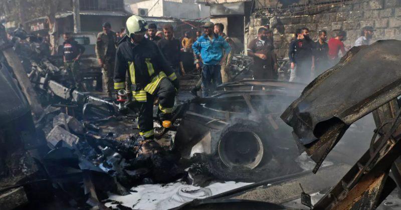 თურქეთის თავდაცვის სამინისტრო: ქალაქ აფრინში აფეთქებას 40 მშვიდობიანი მოქალაქე ემსხვერპლა