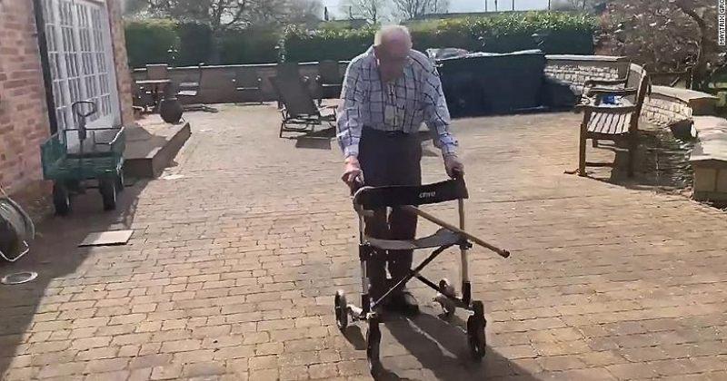 99 წლის ბრიტანელმა ვეტერანმა ეროვნული ჯანდაცვის სამსახურისთვის £2,000,000 შეაგროვა
