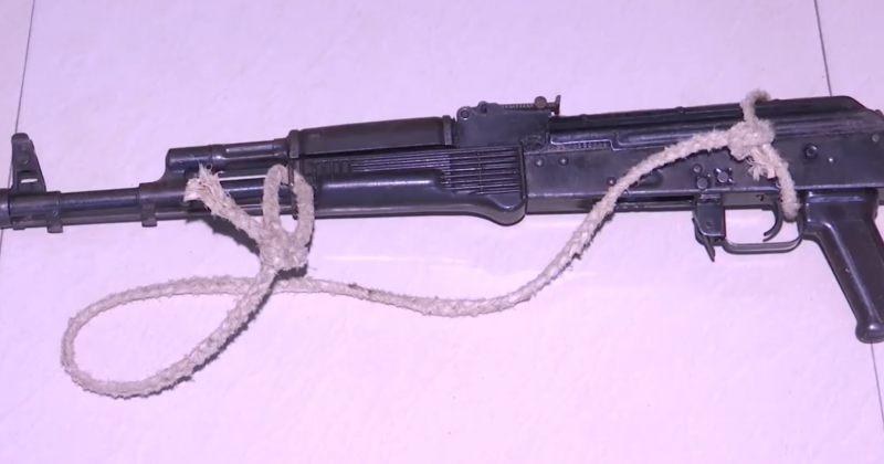 შსს: მარნეულში იარაღისა და საბრძოლო მასალის უკანონო შეძენა-შენახვისთვის 1 პირი დავაკავეთ