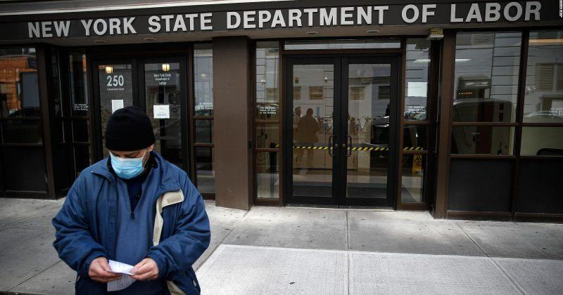 კრიზისის შედეგად აშშ-ში უმუშევრობის შემწეობის მოთხოვნები 33.3 მილიონამდე გაიზარდა
