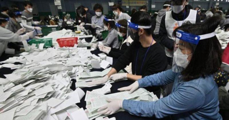 სამხრეთ კორეაში გამართულ საპარლამენტო არჩევნებში მმართველმა პარტიამ გაიმარჯვა