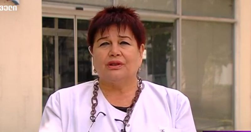 ლალი ტურძელაძე: გარდაცვლილ პაციენტს სასუნთქი სისტემის დაავადებები ჰქონდა