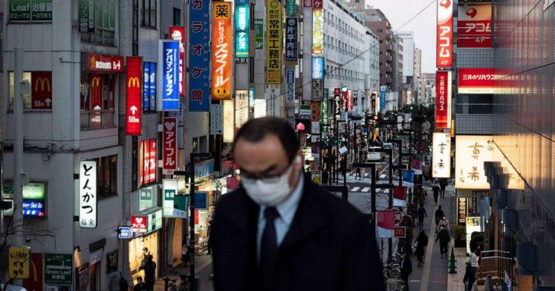 COVID-19-ის შემთხვევების ზრდის გამო ტოკიოში საგანგებო მდგომარეობა გამოცხადდა