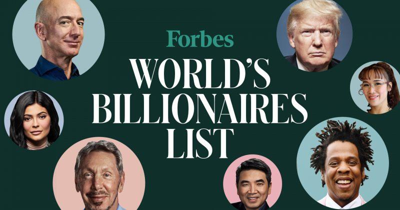 Forbes-მა 2020 წლის უმდიდრესი ადამიანების რეიტინგი გამოაქვეყნა - მთავარი ცვლილებები