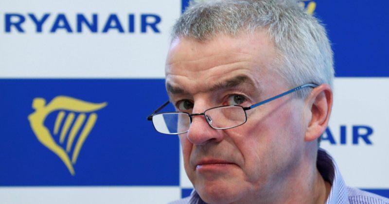 Ryanair: თუ მთავრობა თვითმფრინავში შუა ადგილის ფულს არ გადაიხდის, ფრენებს შევწყვეტთ