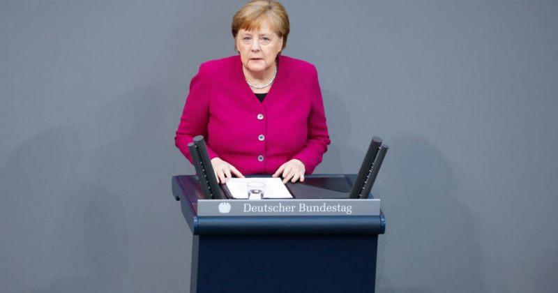 მერკელი: კორონავირუსი მეორე მსოფლიო ომის შემდეგ ევროპისათვის ყველაზე დიდი გამოწვევაა