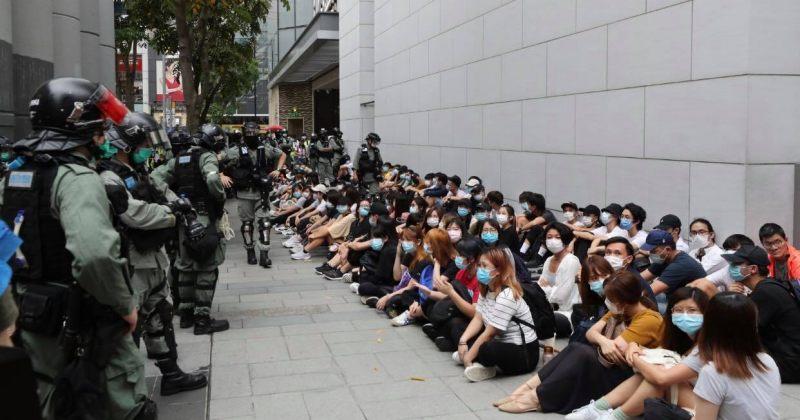 ჰონგ-კონგში ჩინეთის კანონპროექტების საპროტესტო აქციაზე 300 მომიტინგე დააკავეს [VIDEO]