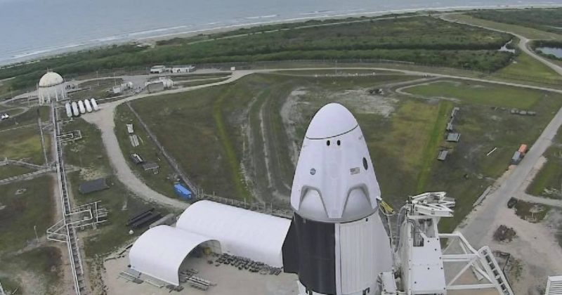NASA-მ და SpaceX-მა უამინდობის გამო კოსმოსში ასტრონავტების გაშვება გადადეს
