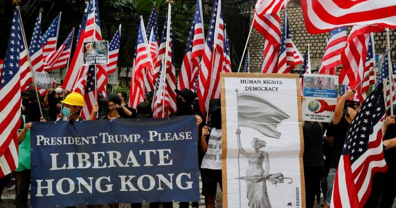ტრამპი ჰონგ-კონგის ავტონომიის შეზღუდვაზე: აშშ-ს ძლიერი რეაქცია ექნება თუ ჩინეთი ამას იზამს