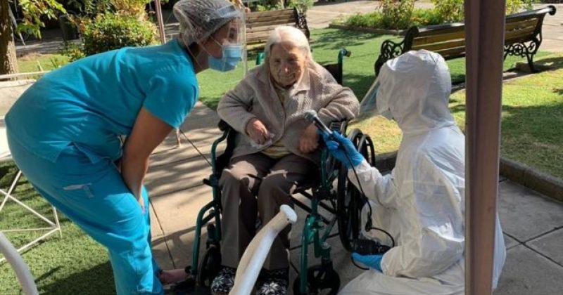 ჩილეს მოხუცთა თავშესაფარში კორონავირუსისგან 111 წლის ქალი გამოჯანმრთელდა