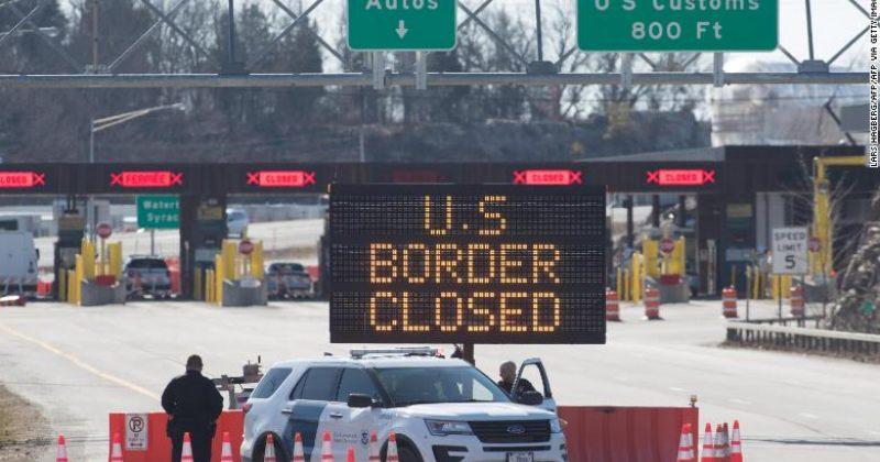 CNN: აშშ კორონავირუსის გამო შემოღებულ სასაზღვრო შეზღუდვებს გაახანგრძლივებს