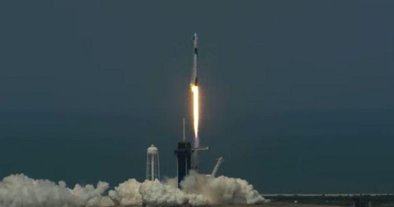 NASA-მ და SpaceX-მა კოსმოსში ასტრონავტები გაუშვეს [LIVE]