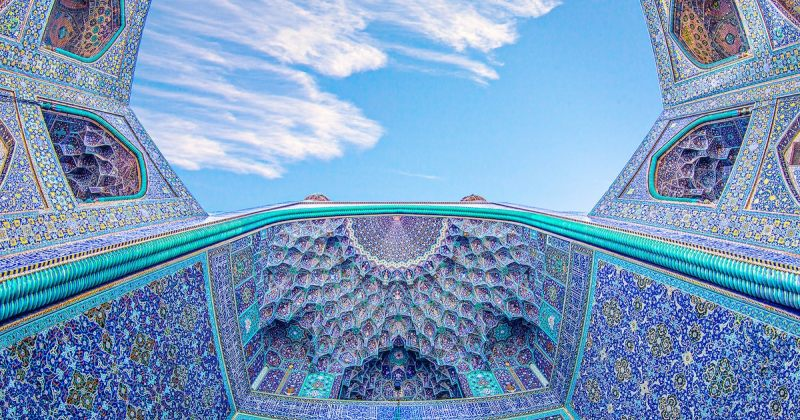 ისპაანის ისტორიული მეჩეთების არქიტექტურა ფოტოგრაფი ფატიმა ჰოსეინ აღაის ობიექტივში