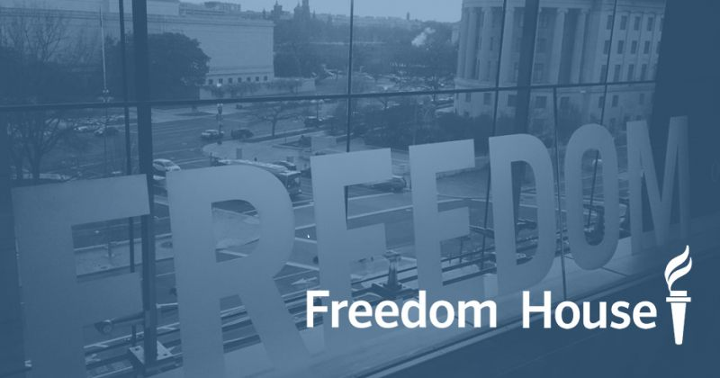 FREEDOM HOUSE საქართველოში გამოხატვის, რელიგიის, მედიის და აკადემიური თავისუფლების შესახებ
