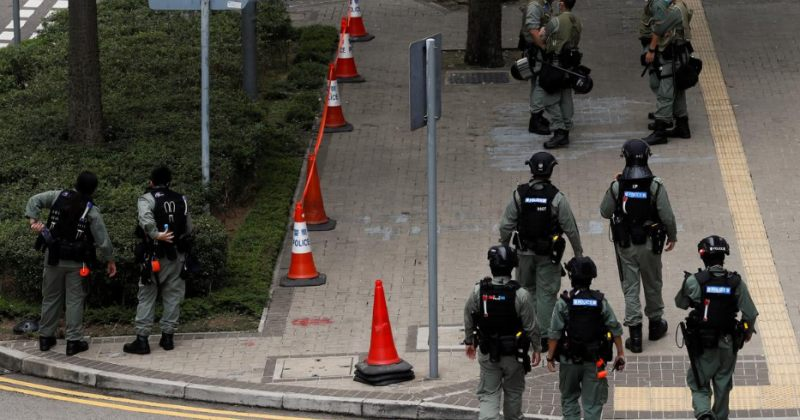 ჰონგ-კონგში აქციები გრძელდება, საკანონმდებლო ორგანოსთან პოლიციაა მობილიზებული