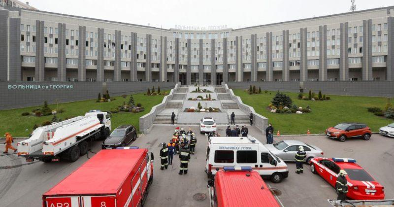 სანქტ-პეტერბურგის საავადმყოფოში სასუნთქ აპარატს ცეცხლი გაუჩნდა, დაიღუპა 5 ადამიანი