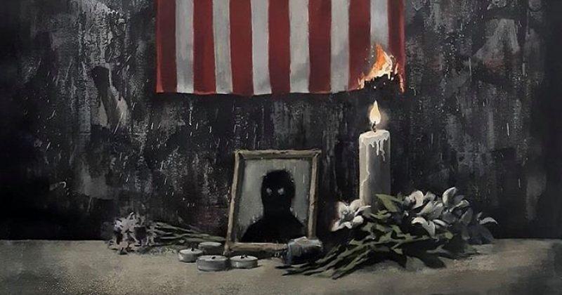 """""""ფერადკანიანებს სისტემამ უღალატა"""" - Banksy-ს ახალი ნახატი ჯორჯ ფლოიდზე"""