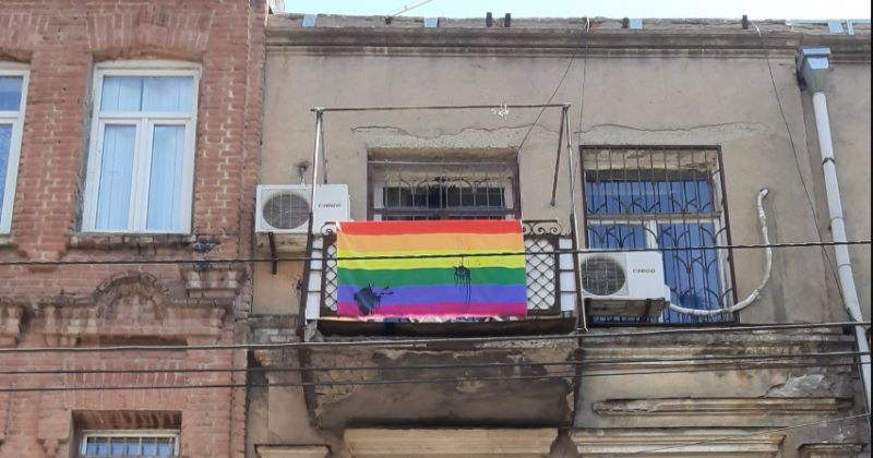 Tbilisi Pride-ის ოფისს ნეოფაშისტური დაჯგუფების წევრებმა საღებავები ესროლეს