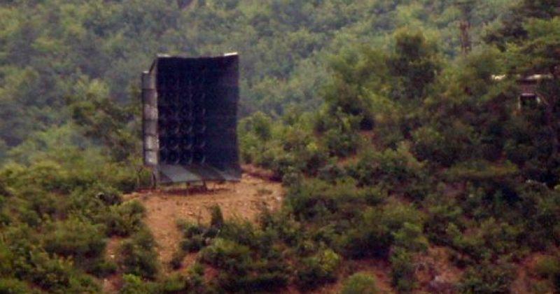 ჩრდილოეთ კორეის არმია დემილიტარიზებულ ზონაში ხმის გამაძლიერებლებს ამონტაჟებს