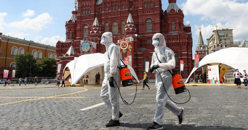 რუსეთში ახალი კორონავირუსით გარდაცვლილთა რაოდენობა 6 000-მდე გაიზარდა