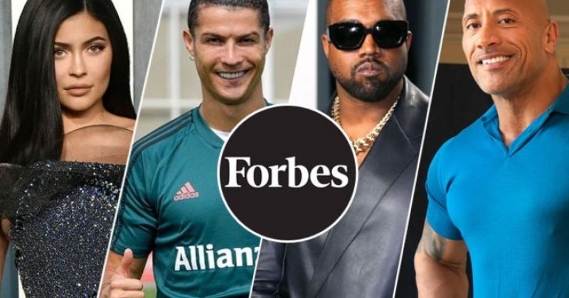 გამომცემლობამ FORBES ყველაზე მაღალშემოსავლიანი ცნობილი ადამიანების სია გამოაქვეყნა